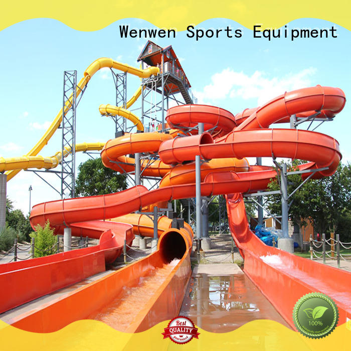 spiral enclosed water slide factory for adult