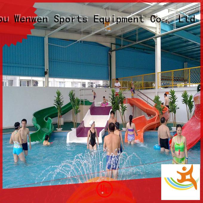 Wenwen swimming pool best water slides kid for amusement park