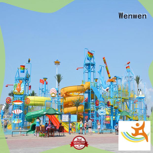 Wenwen huge water playground equipment for hotel