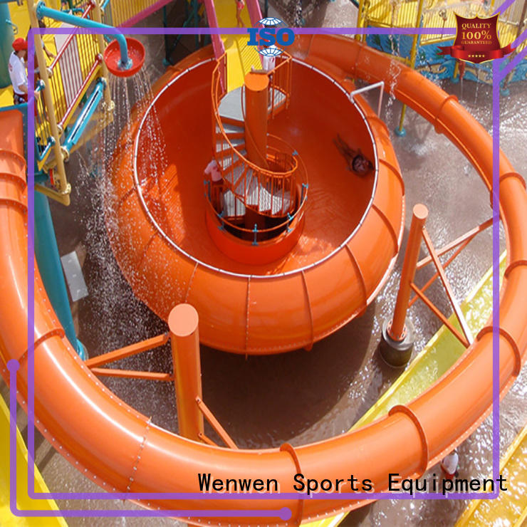 excellent outside water slides hot sale for amusement Wenwen