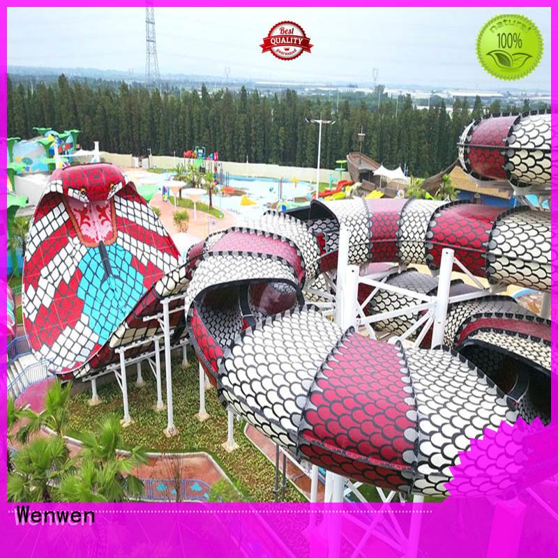 Wenwen outdoor water slides maker for amusement park