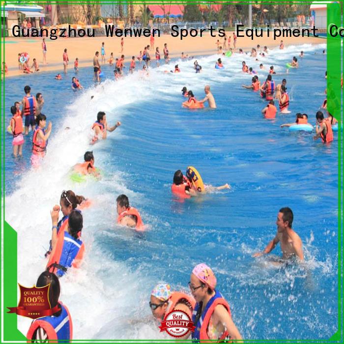 Wenwen family surf pool for sale for resort