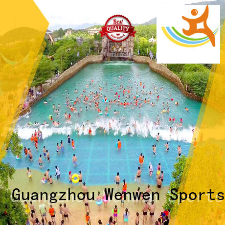 Wenwen pneumatic new wave pools wave for hotel