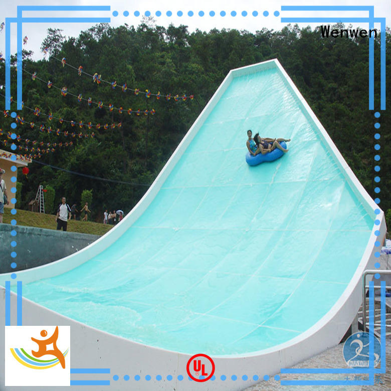 u-waving swimming theme giant water slide Wenwen