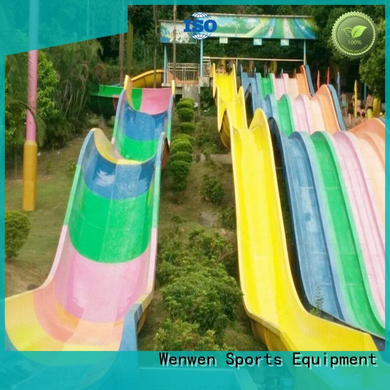 high quality fiberglass water slides suppliers new for amusement park Wenwen