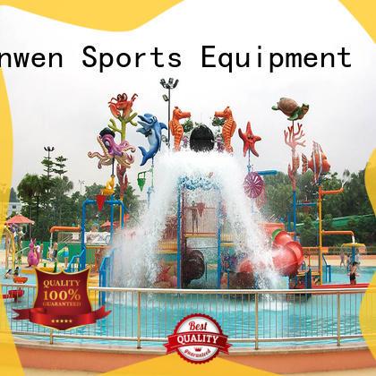 Wenwen outdoor water playground equipment for hotel