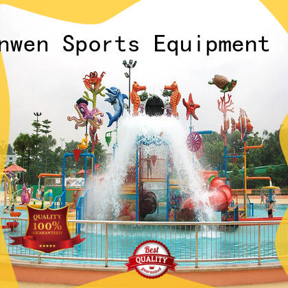 Wenwen outdoor water playground equipment for hotel