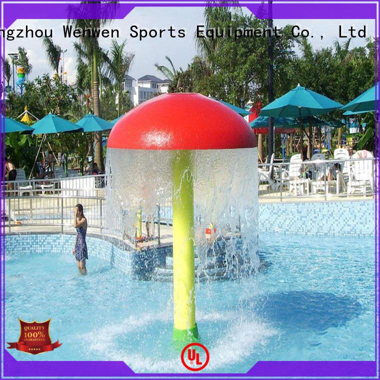 splash pad cost spray anti mushroom Wenwen Brand company