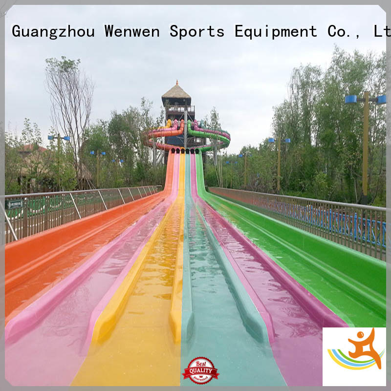 Wenwen commercial cool water slides supplier for hotel