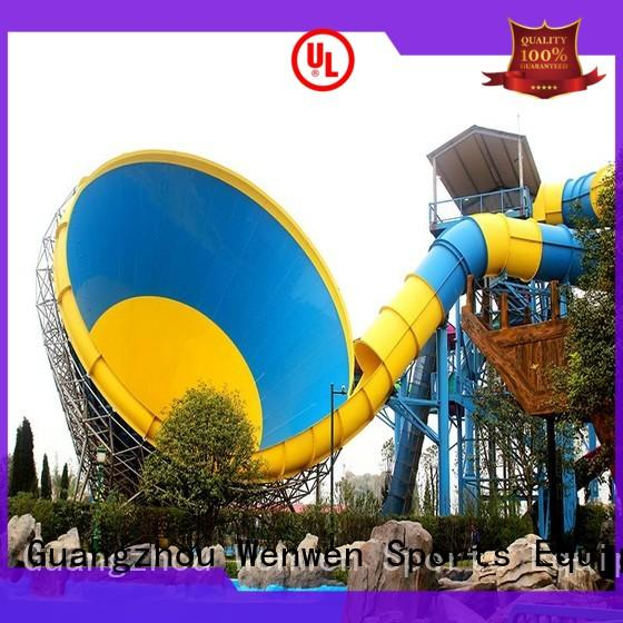 Wenwen cheap water slides height for water park