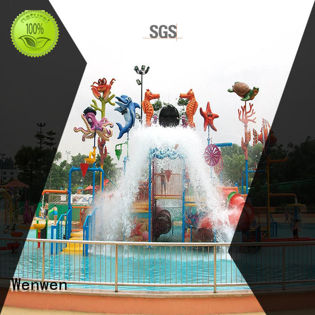 park outdoor water park interactive park