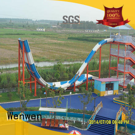 pool water slide project for amusement park Wenwen