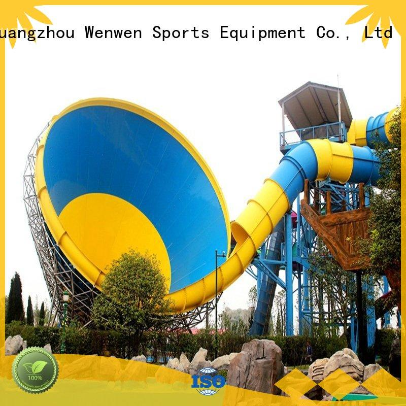 Wenwen cheap water slides height for resort