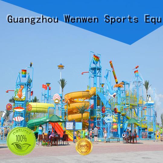 Wenwen hot sale biggest water park ever equipment for resort