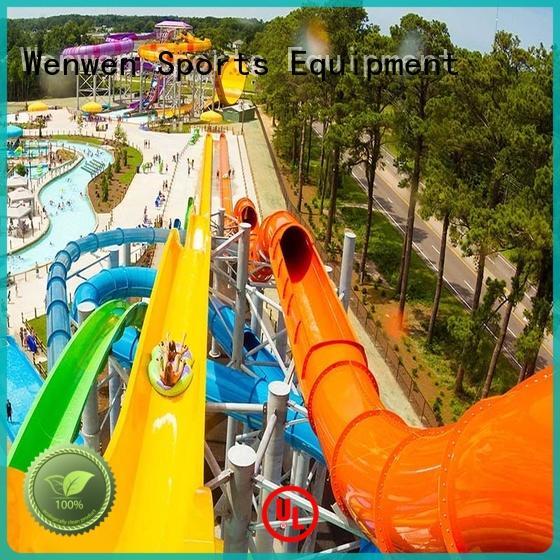 Wenwen commercial water slides design for hotel