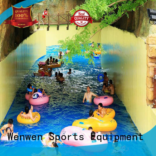 Wenwen funny lazy river supplier for sale