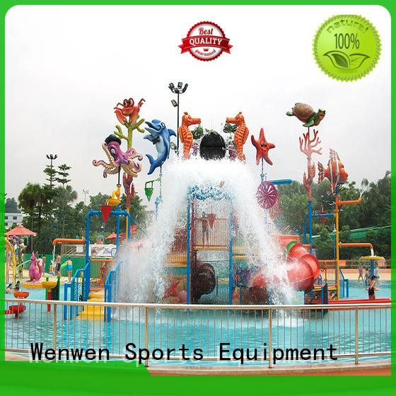 Hot indoor water park spray Wenwen Brand
