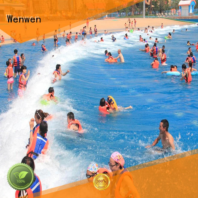 construction best wave pool online for resort