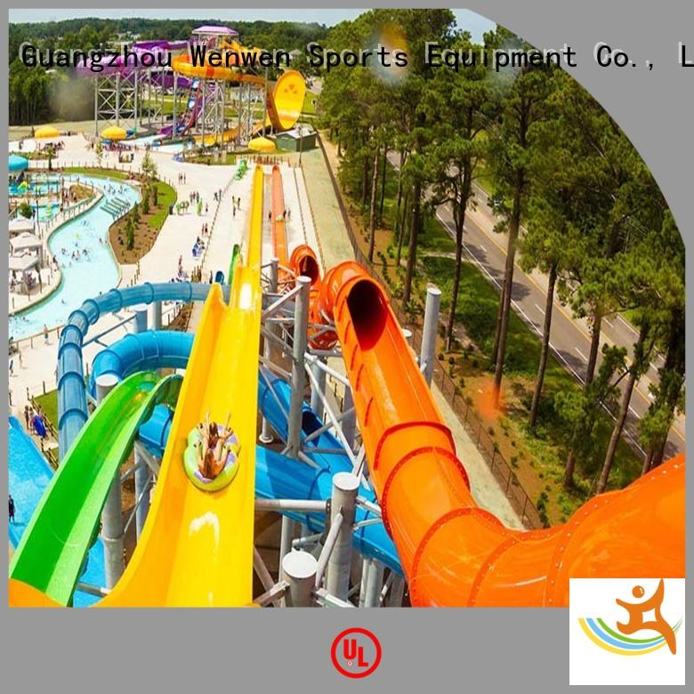 water slide run out hotel commercial water slides Wenwen Brand