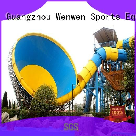 anti fade new water slide equipment for theme park
