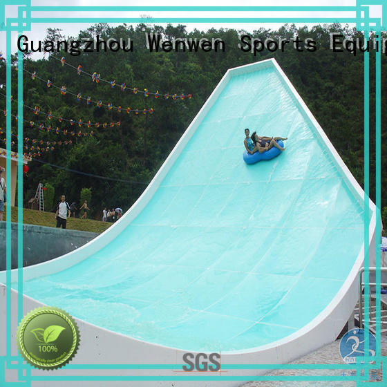 Wenwen the biggest water slide for resort