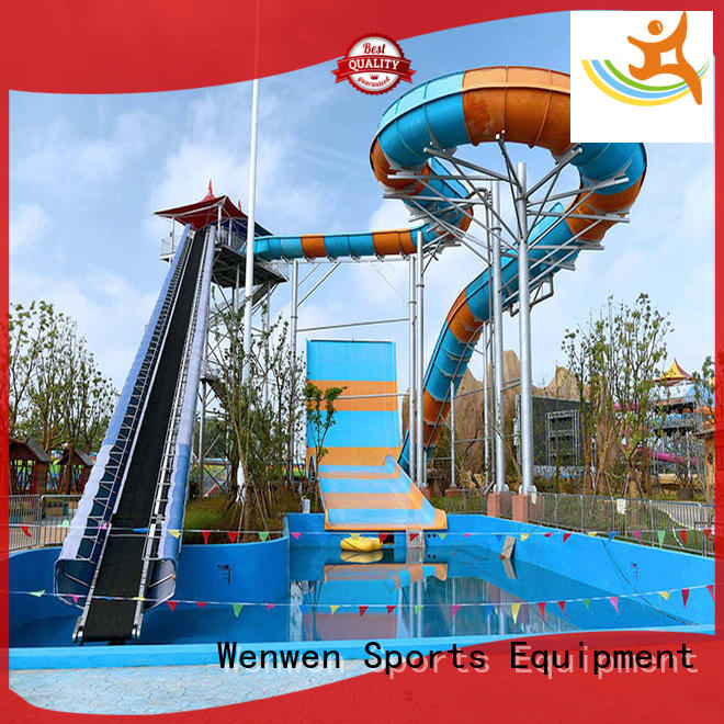 Super Boomerang Water Slide Outdoor Water Slide For Swimming Pool Equipment
