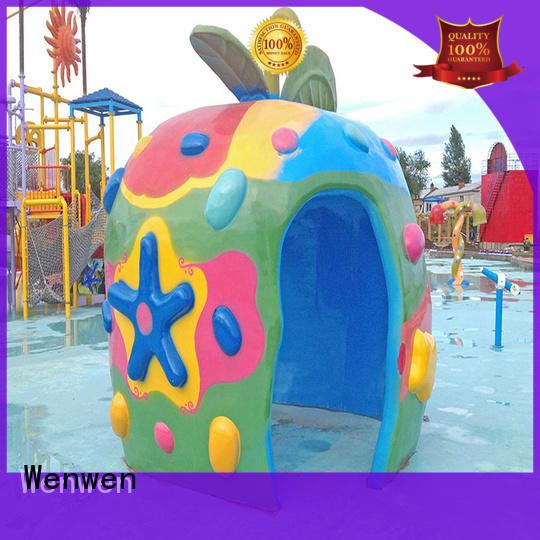 splash pad cost house children colorful Wenwen Brand company
