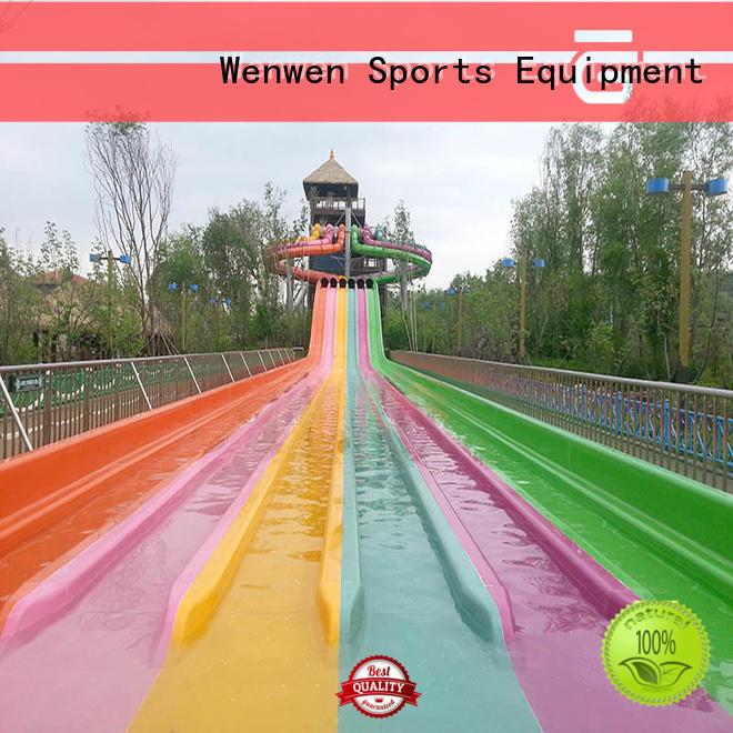 frp fastest water slide manufacturer for theme park Wenwen