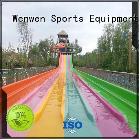 large frp water slide ride Wenwen manufacture