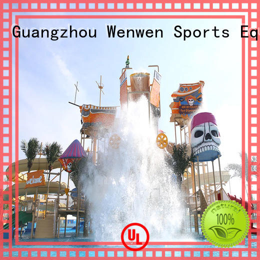 Wenwen play designed for amusement park