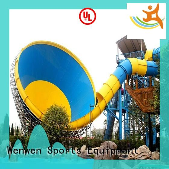 Wenwen fast delivery domestic water slides hurricane for resort