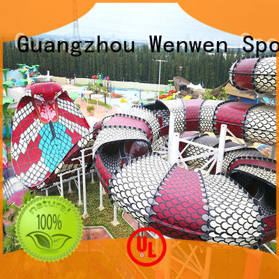 water slide cost exciting water Wenwen Brand company