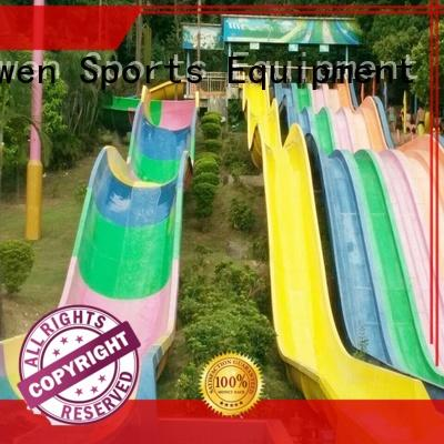 Wenwen fiberglass water slides suppliers equipment for theme park