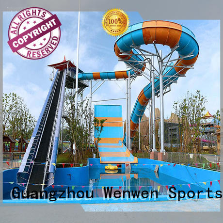 pool water slide for amusement park Wenwen