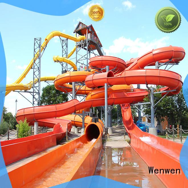 outdoor water slide outdoor equipment for hotel Wenwen