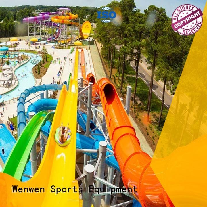 outdoor pool water slide run out hotel adult Wenwen Brand