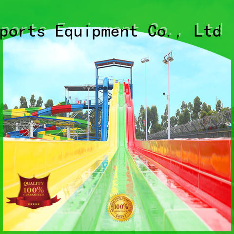 wholesale large fiberglass water slides for sale playground for hotel Wenwen
