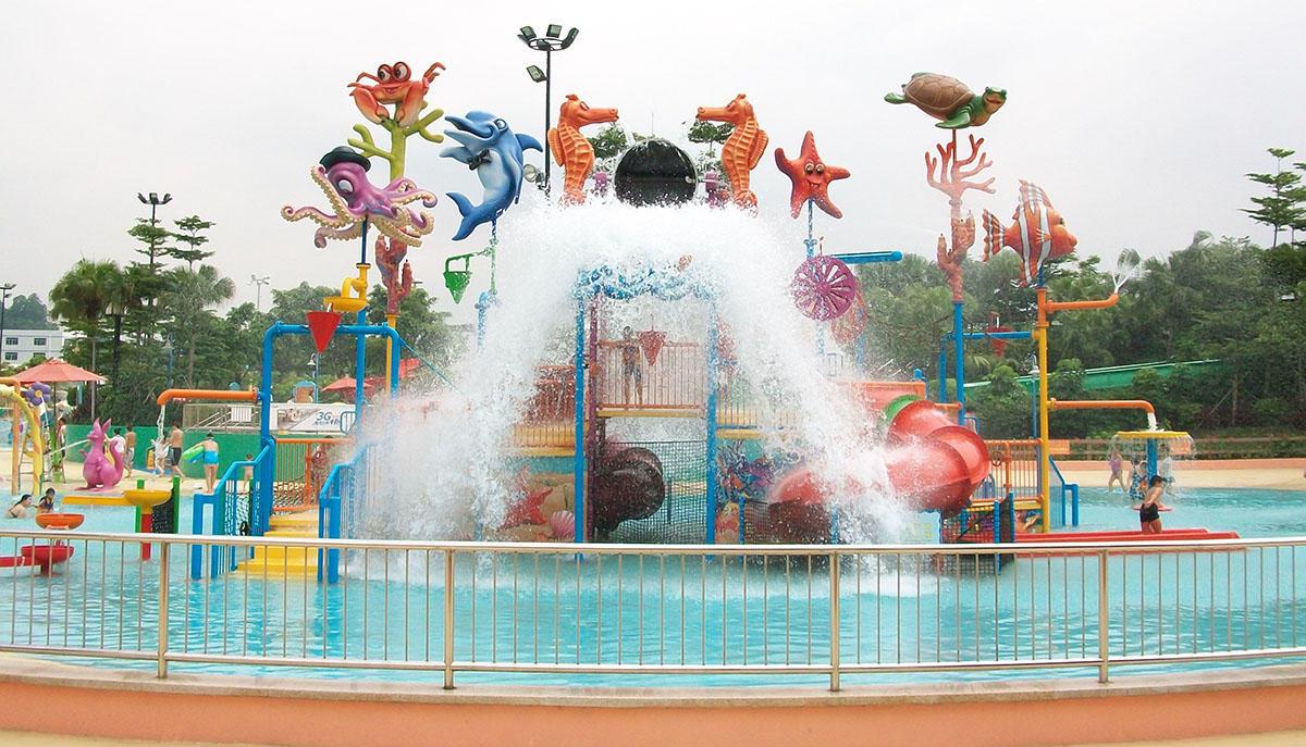Wenwen outdoor water playground equipment for hotel-1