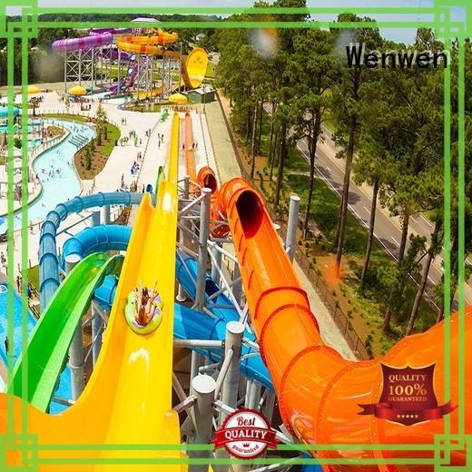 big water slides for hotel Wenwen