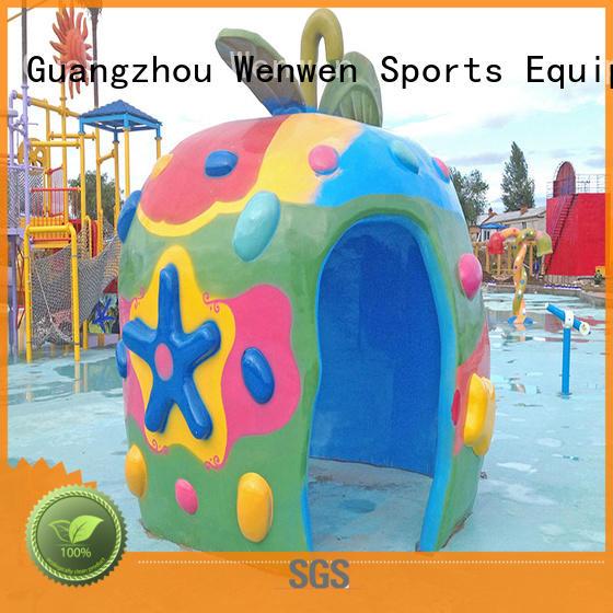 Wenwen splash park steel wholesale