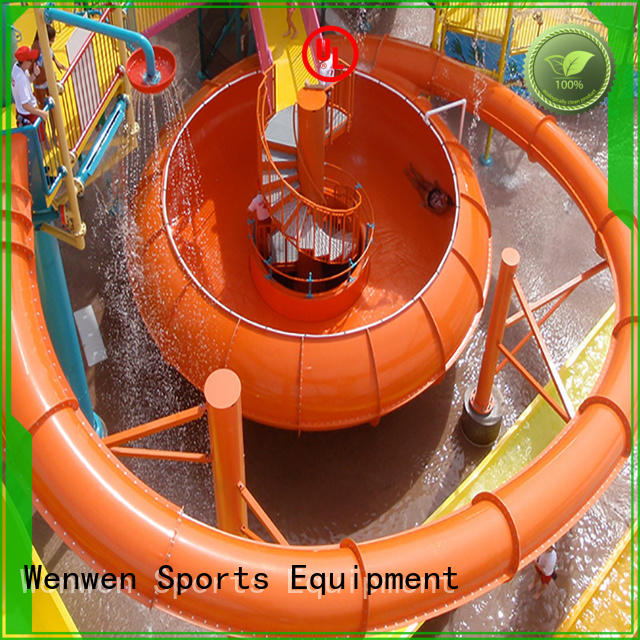 high quality water slide with bowl manufacturer for aqua park Wenwen