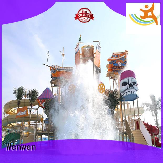 Wenwen water park playground equipment for amusement park