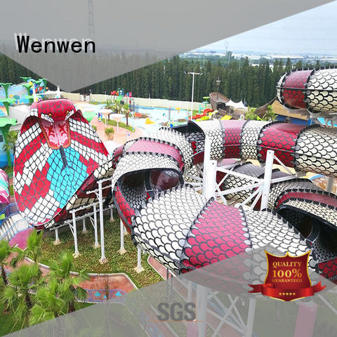 new water slide customized for theme park Wenwen