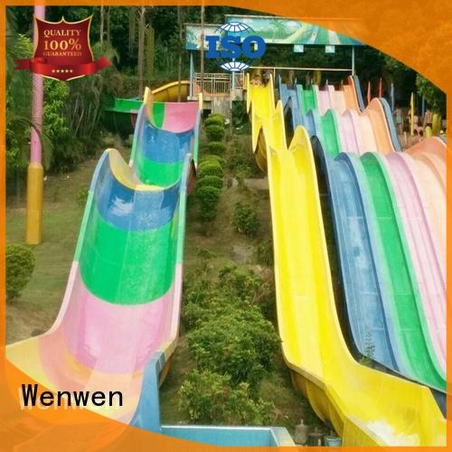 Wenwen tall water slides kid for theme park