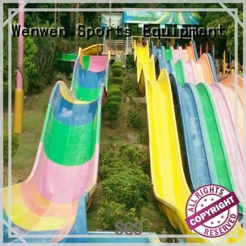 tall water slides commercial for amusement park