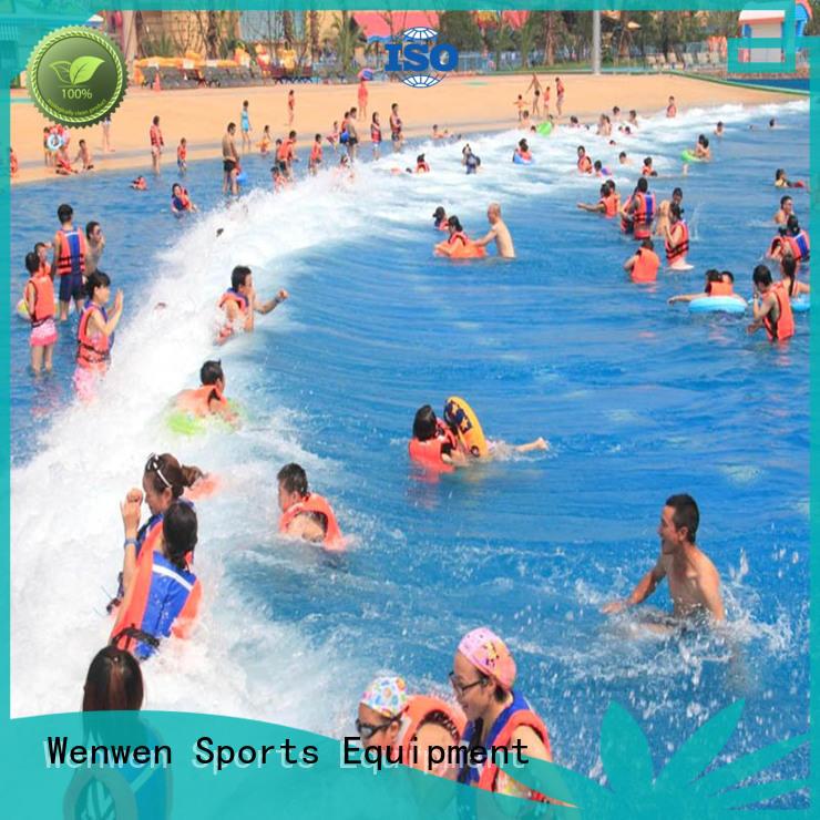 Wenwen Brand resort tsunami park the wave pool manufacture