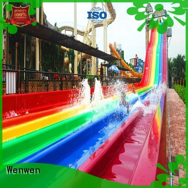 super water slide hot sale for hotel Wenwen