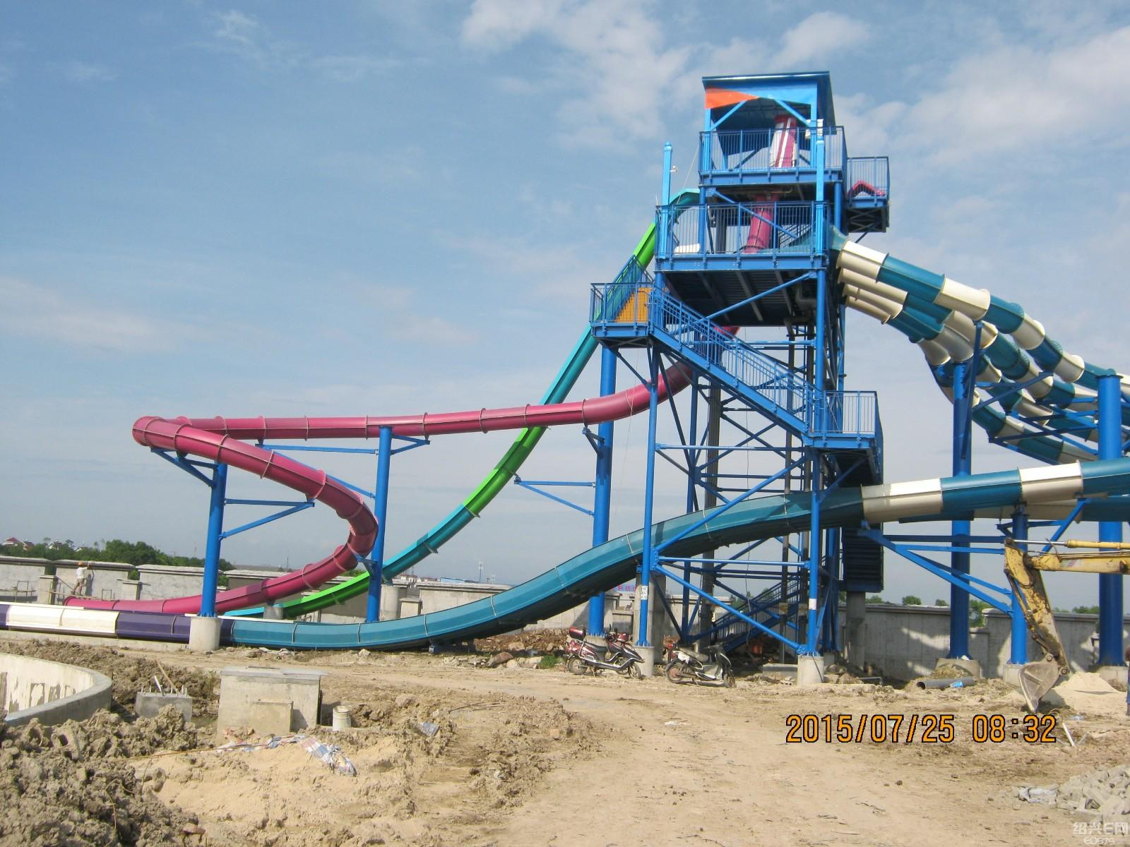 Wholesale outdoor water slide ride Wenwen Brand