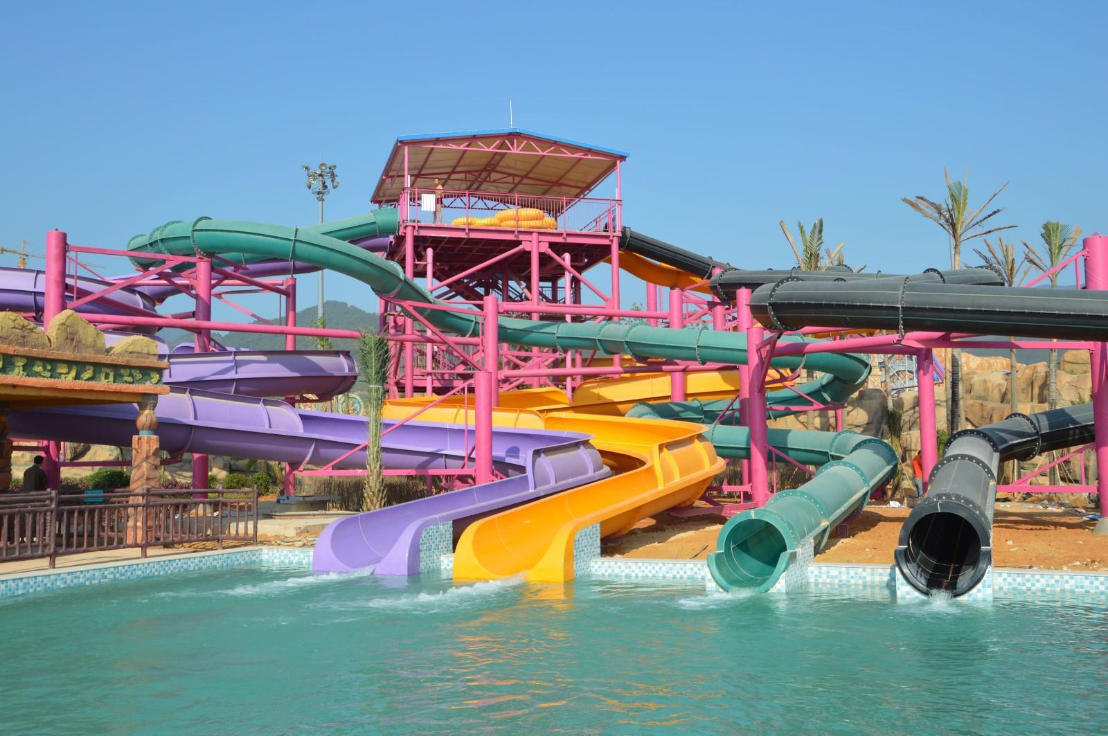 water slide ride large slides Wenwen Brand cool water slides