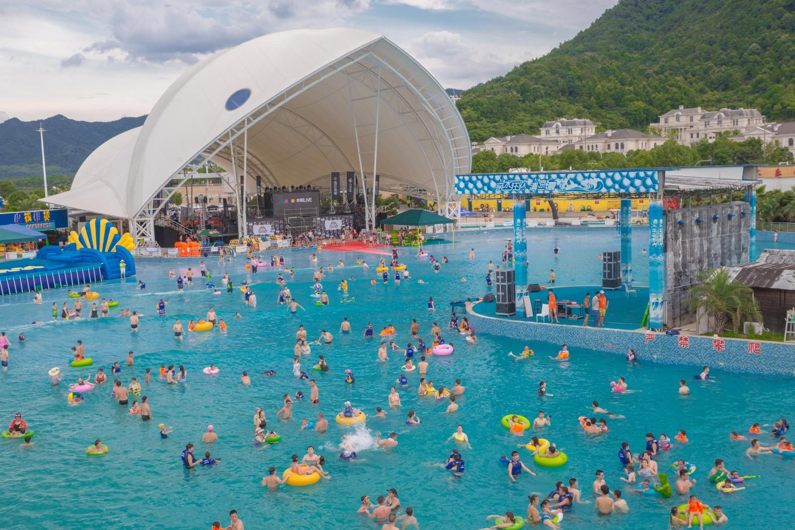 Wenwen the wave pool manufacturer wholesale